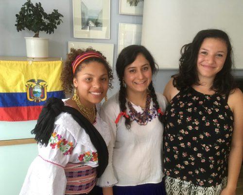 Ecuadorianische Freiwillige 20162017